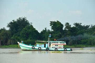 Tug Boat in the river