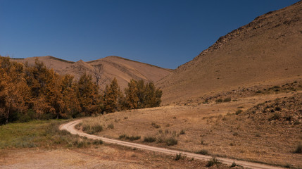 The road to Kyzyl