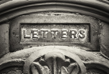 old mail slot