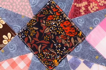 Handmade patchwork texture