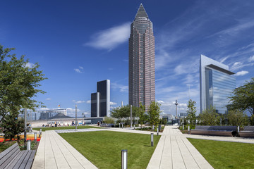 Stadtansicht Frankfurt © Matthias Buehner