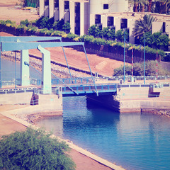 Canal in Eilat