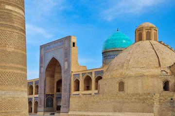 Miri Arab madrasah & Poi Kalon Mosque in Bukhara