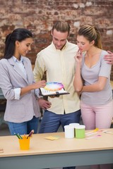 Interior designers working together