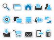Web internet button icons set