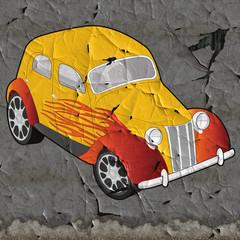 custom car wall art