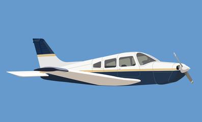 light aircraft illustration
