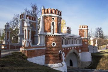 Москва. Царицыно. Фигурный мост.