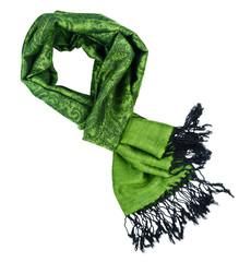 Paisley pattern cashmere scarf