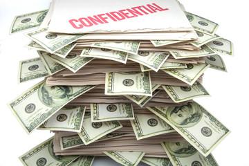 documentos con billetes