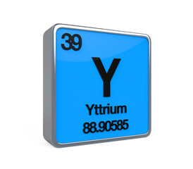 Yttrium Element Periodic Table