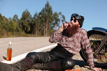Biker rest