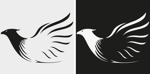 Eagles mascot or symbol