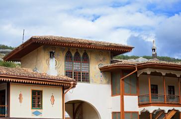 khan's palace in Bakhchysaray. Crimea. Ukraine.