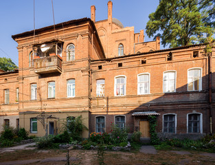architecture of Kharkov. Ukraine.