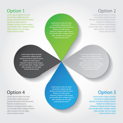 Options - vector banner