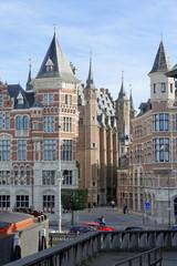 Historische Gasse in Antwerpen