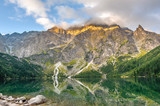 Beautiful scenery of Tatra mountains and lake in Poland - 71876763