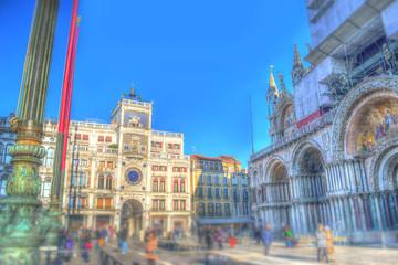 tilt shift in San Marco