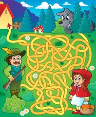 Maze 20 with fairy tale theme
