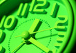 Leinwanddruck Bild - Clock face