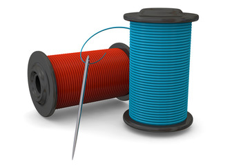 NEEDLE AND THREAD - 3D