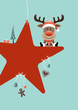 Rudolph Red Star & Symbols Retro