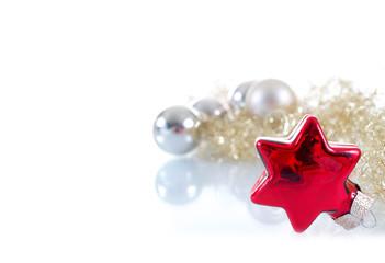 Weihnachtsdeko mit Stern