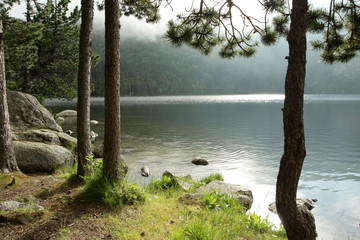 Lac de Quérigut,Pyrénées ariégeoises