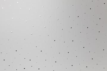 Silber Grauer Hintergrund, gemustertes Aluminium