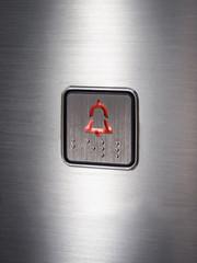 Alarm bell icon Elevator button