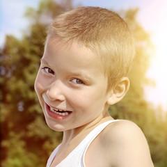 Kid Portrait outdoor