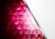 Tech background with metal stripe