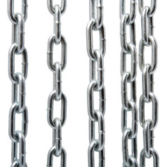 Chain Isolated closeup