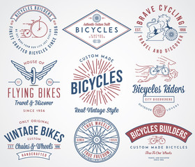 Bicycle builders set 2 colored