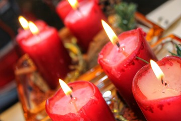 Weihnachtskerzen - Adventskerzen