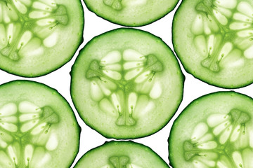 Cucumber isolated composition
