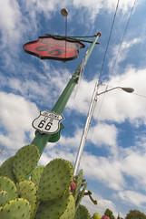 Kennzeichnung der Route 66, USA