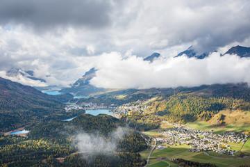 St. Moritz und Celerina im Engadin