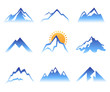 mountains signs