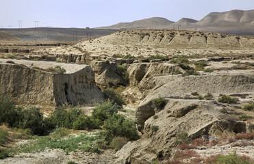 Gobustan National Park. Azerbaijan