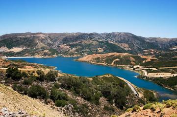 Пресное озеро на острове Крит, Греция