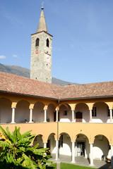 Church of S. Maria della misericordia and Papio college at Ascon