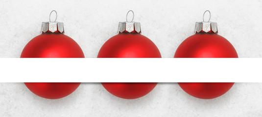 Weihnachtshintergrund / Deko /Schnee