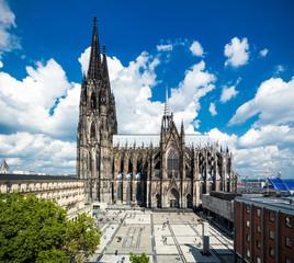 Köln im Sommer
