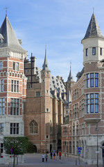 Gasse zum Vleeshuis Antwerpen