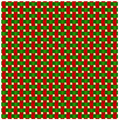 Abstract red and green knitted texture background