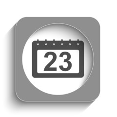 Calendar web icon