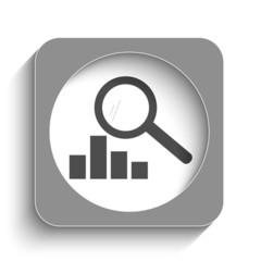 Statistics web icon