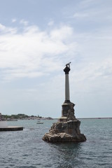 Monument to the Scuttled Warships in Sevastopol